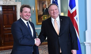 News image for Foreign Minister of Iceland met with US Secretary of State