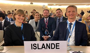 News image for Iceland's first session as a member of the Human Rights Council