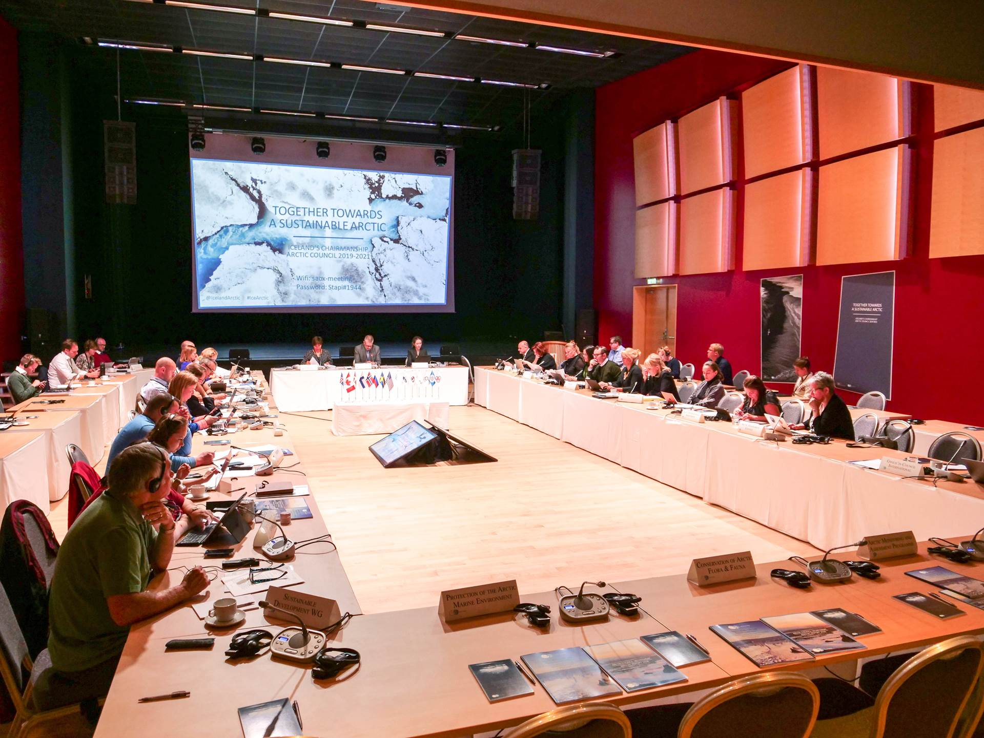 Arctic Council SAOX meeting in Reykjanesbær, June 2019 - mynd