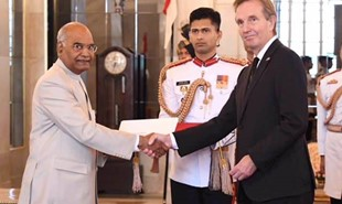 News image for New Ambassador of Iceland presents credentials to President