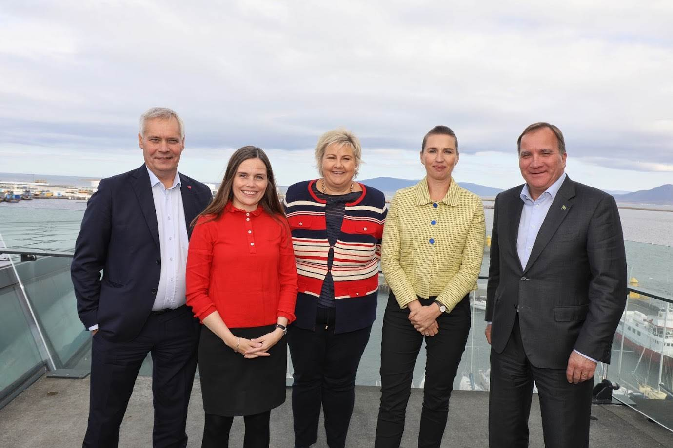 Mynd fyrir frétt: The Nordic Prime Ministers and a group of Nordic CEOs in cooperation on climate action