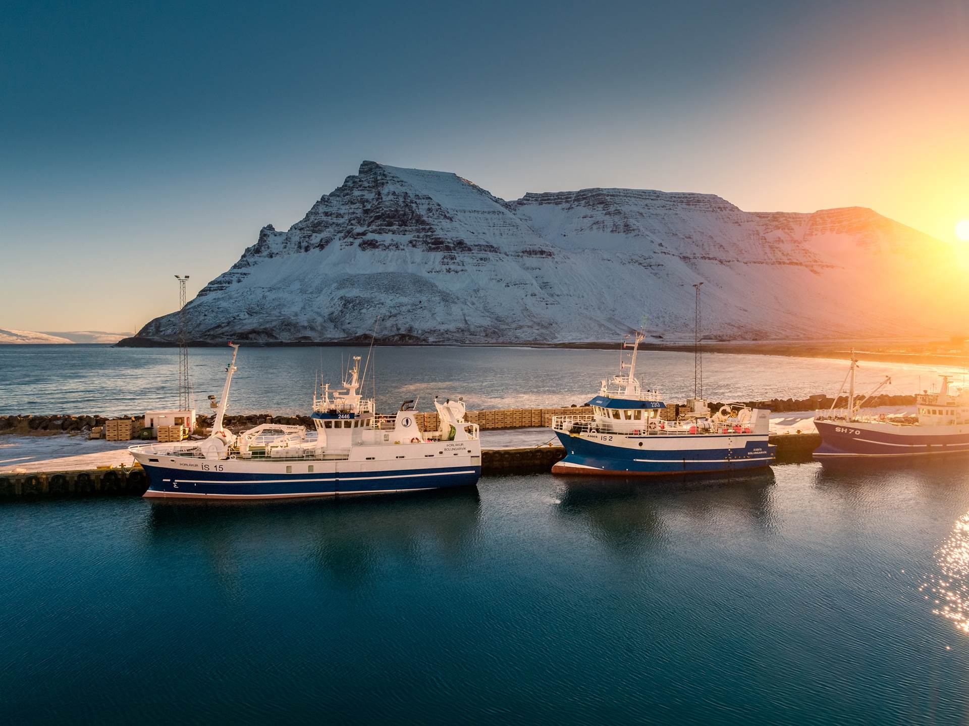 Icelandic Seafood Products, Technology & Services - Iceland is All You Need to Run Your Business - mynd