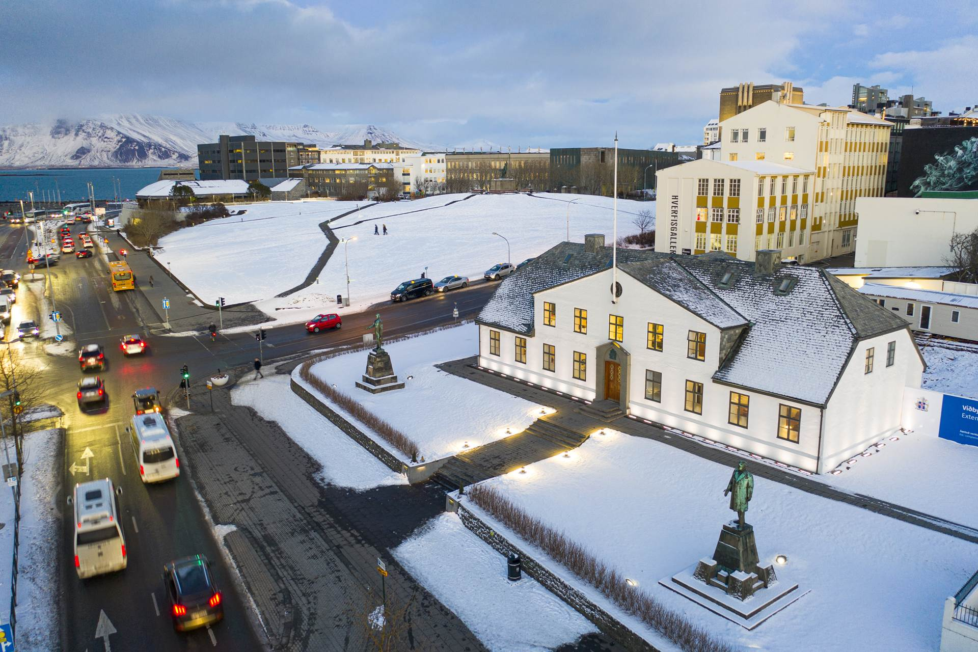 Mynd fyrir frétt: Stricter measures enforced in Iceland: Ban on gatherings of more than 20 people