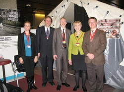 The delegations of the Icelandic Government and the Icelandic Red Cross