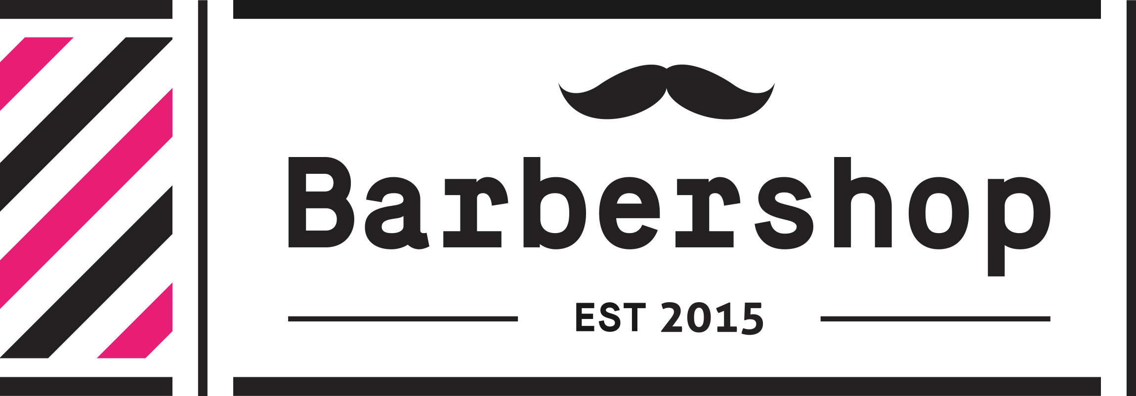 The Barbershop Logo