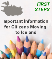 Moving ti Iceland - First steps